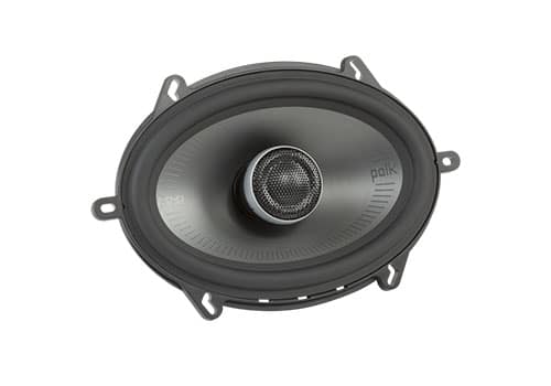 Polk Audio MM572 front angle view of woofer