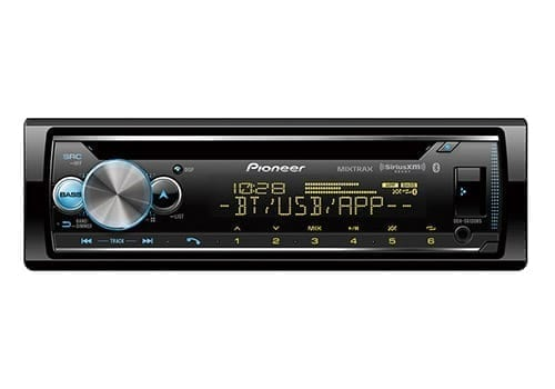 Pioneer DEH-S6120BS front view for best car stereos