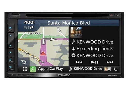 Kenwood DNX695S maps with media
