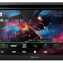 Pioneer AVH-211EX with dvd media playing